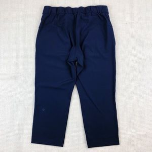 lululemon athletica Pants - NWOT Lululemon On The Fly Crop True Navy 2018